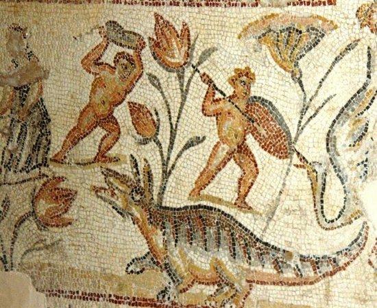 Zippori, Israël: Nile Mosaics