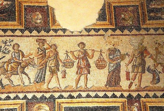 Zippori, Israël: Roman Mosaics_3