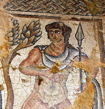 Zippori, Israel: Greek Hero Mosaic
