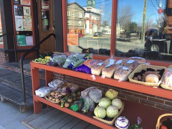 Danville, Canada: Étal de légumes