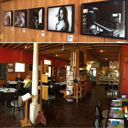 Danville, Canada: Salle à manger et exposition