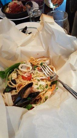 Cape Girardeau, MO: Seafood linguini...