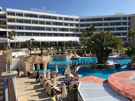 Mediterranean Beach Hotel Good With Pools And A Not 5 Star Service