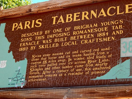 Paris, ID: About the Tabernacle