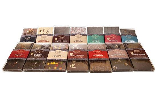 Таллой, Ирландия: Award winning chocolate pouches