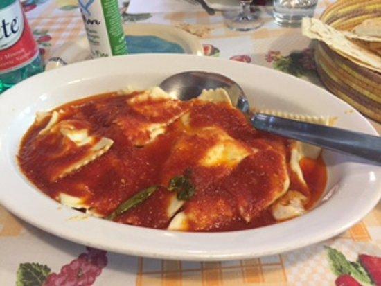 Certaldo, Ιταλία: finished ravioli
