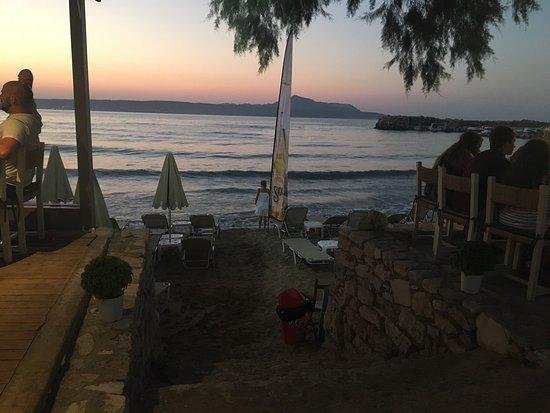 Almyrida, اليونان: Well presented food