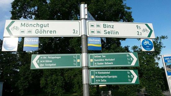 Ostseebad Baabe, เยอรมนี: Das Auge ißt mit