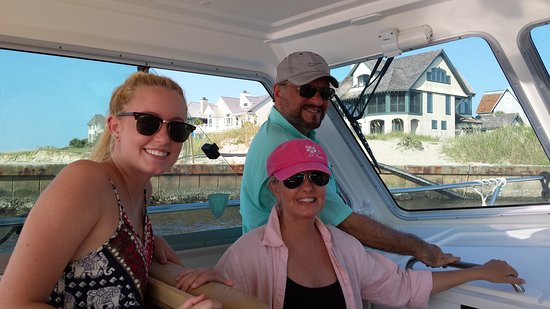 Southport, NC: We are now entering Bald Head Island Marina!