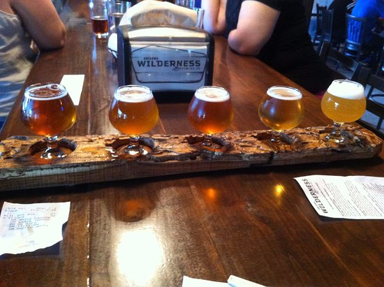 Gilbert, AZ: Flight of beer - great when you are unsure what to choose.
