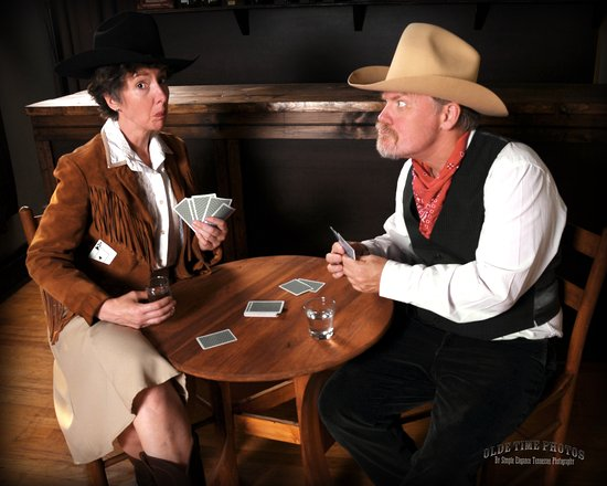 Jonesborough, TN: Fun cowboy and cowgirl