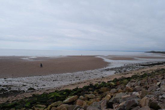 Carnoustie, UK: Carnoustie seaside