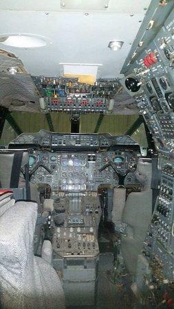North Berwick, UK: Concorde cockpit