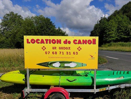 Location Canoe Ur Ondoa