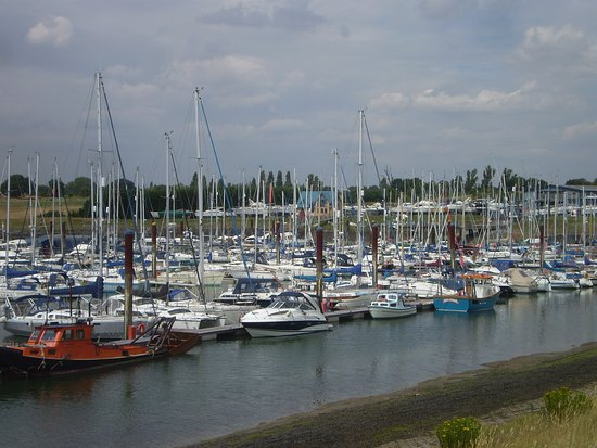 Burnham-on-Crouch, UK: Now where did I moor my boat?