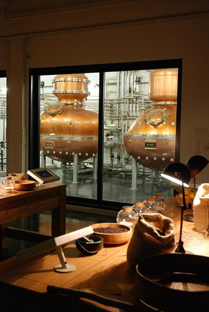 Whitchurch, UK: The Carterhead Stills seen from the Botanical Dry Room