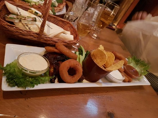 Solna, Sverige: Big tasty portions