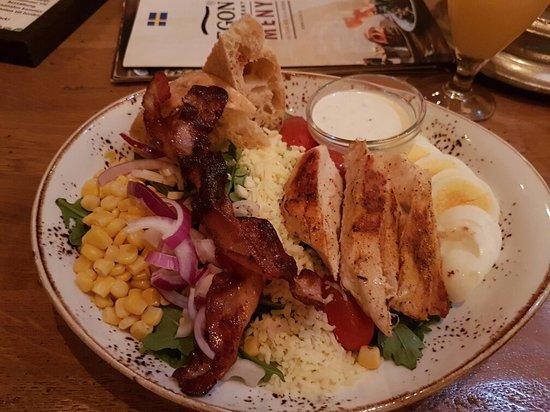 Solna, Suecia: Big tasty portions
