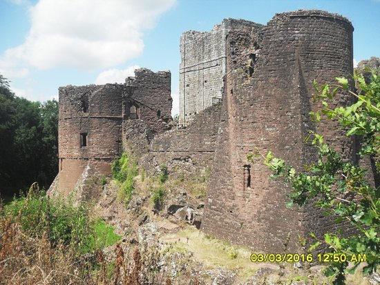 Goodrich, UK: SW Tower, Keep and SE Tower
