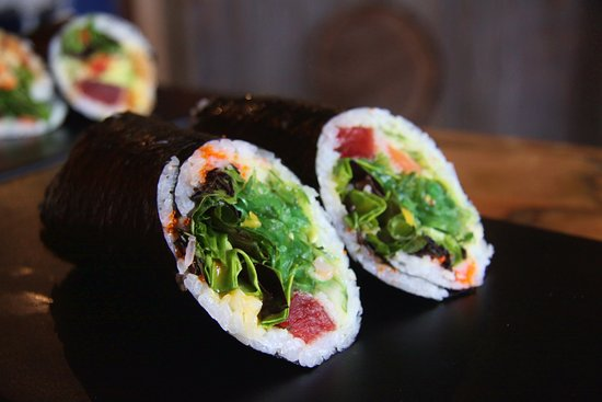 Mount Kisco, NY: sushi burrito