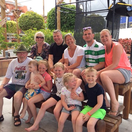 Holiday Village Tenerife: The entire family at the soft-play area.