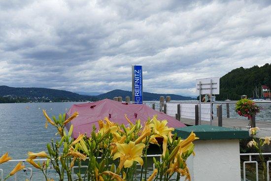 Reifnitz, ออสเตรีย: Blick auf den See