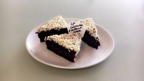 Prestwick, UK: Gluten free Chocolate & Nutella cake