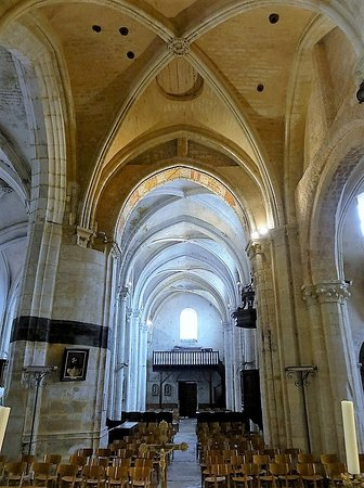 Val-d'Oise, Prancis: la nef