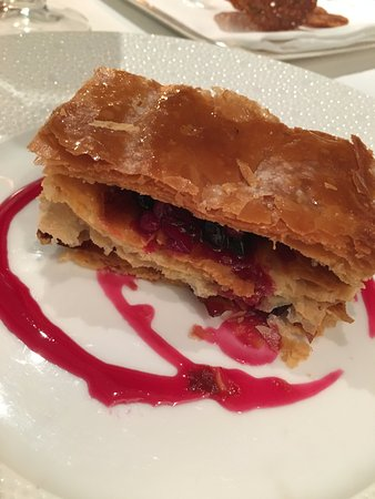 a different take on Napoleon.. so flaky and delicious