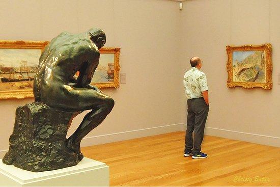 วิลเลียมสทาวน์, แมสซาชูเซตส์: Contemplation in the Impressionist Galley at Clark Art Nuseum. Williamstown, MA