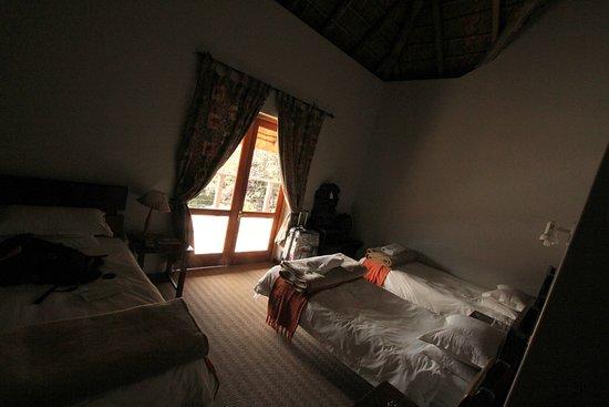 Drifters Johannesburg Lodge: My jsme měli pokoj pro 3, protože jsme cestovali s dítětem.