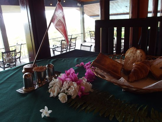 Giritale, Sri Lanka: Nice details at the table