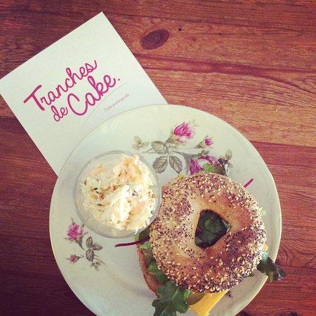 Uccle, Belgien: Yummy bagel
