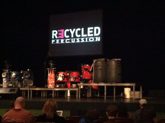 Alberta Bair Theater for the Performing Arts: Recycled Percussion