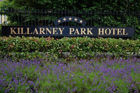 The Killarney Park Hotel: Signage