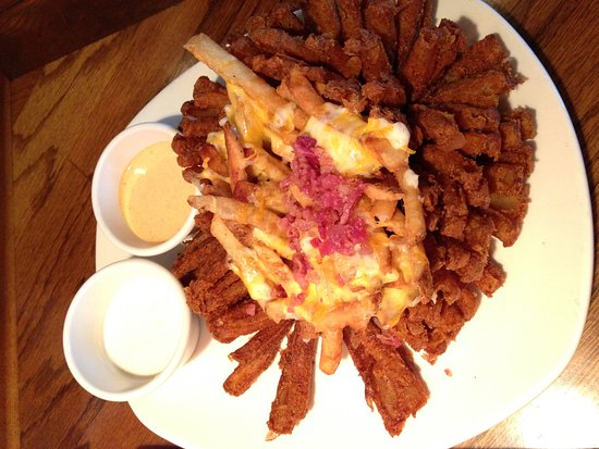 Bedford, NH: The loaded bloomin' onion was all that you'd imagine.