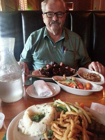 Houghton, MI: My husband and I enjoyed our 44th anniversary dinner!