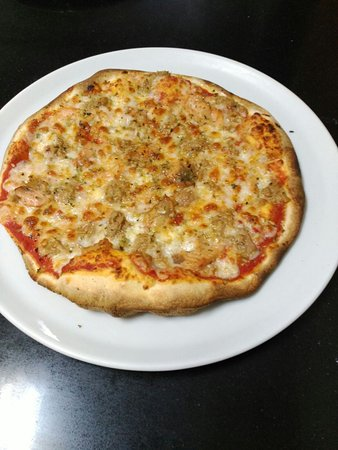 Fuentes de Ebro, Spanyol: La pizza de la casa