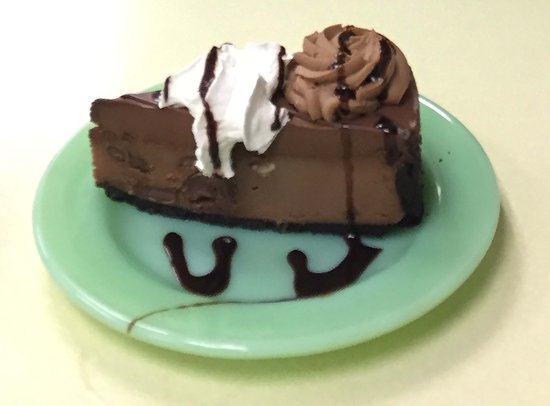 Waupaca, Ουισκόνσιν: Godiva Chocolate Cheesecake
