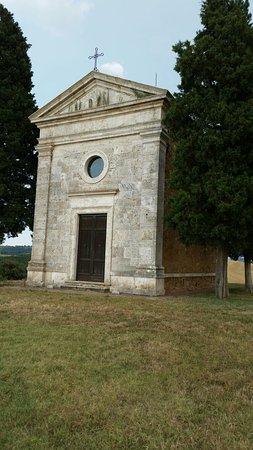 San Quirico dOrcia, Itália: Cappella della Madonna di Vitaleta