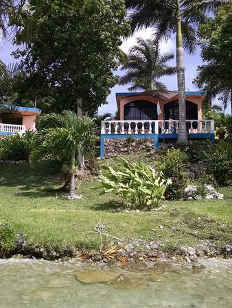 Pehaltun Villas: View of our casita from the water