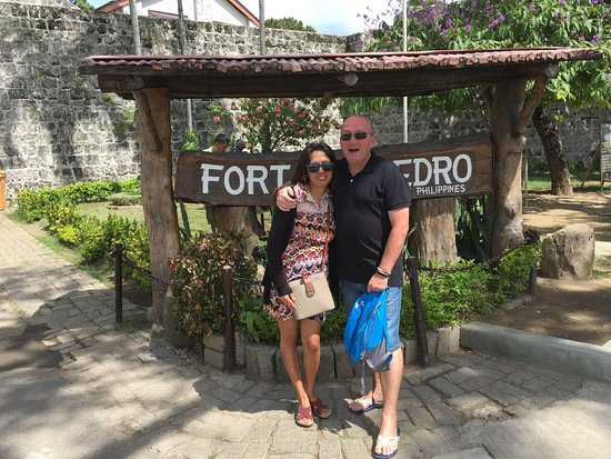 Fort San Pedro: Entrance to the fort