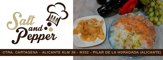 Restaurante salt and pepper restaurante en pilar de la for Tapis de cuisine salt pepper