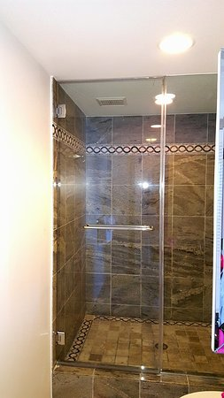 The Galvestonian: Shower in my Bathroom