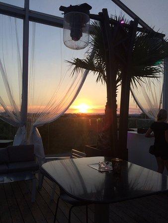 Coucher de soleil sur le Grand Travers
