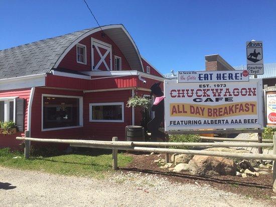 Turner Valley, Kanada: Outside of the Resturant