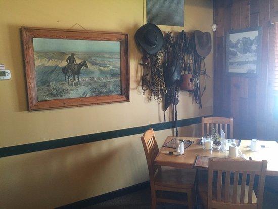 Turner Valley, Kanada: antique riding equipment