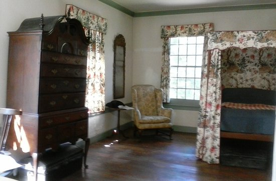 ‪‪Morristown‬, نيو جيرسي: Martha Washington's bedroom‬