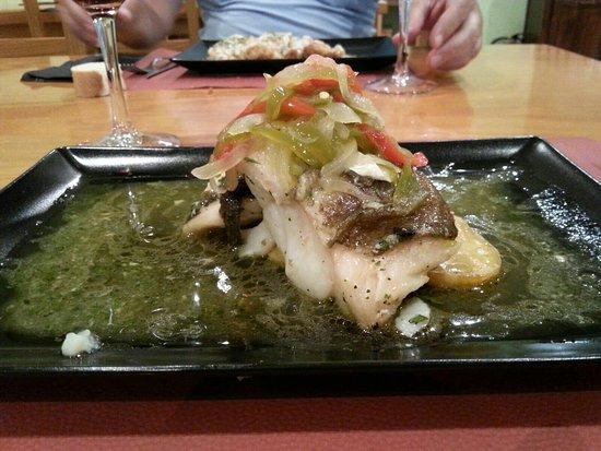 Isaba, Ισπανία: Restaurante Azpirotz