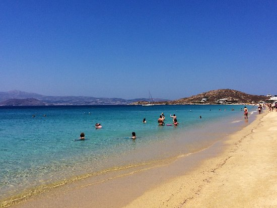 Lagos Mare: Spiaggia Agios Prokopios, a poca distanza dall'hotel